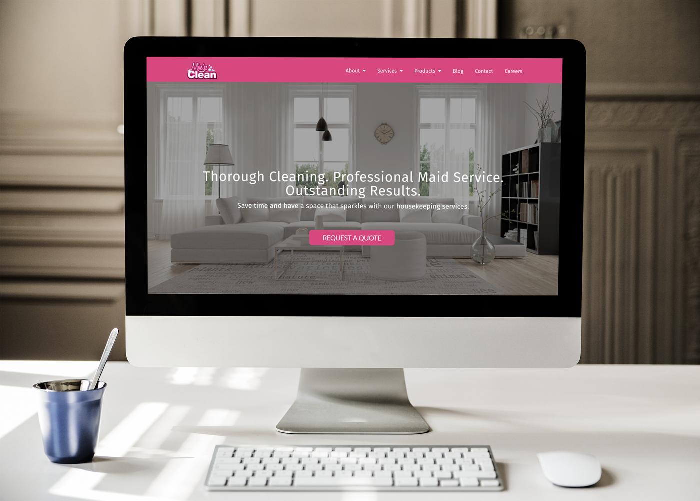 MissesClean-homepage