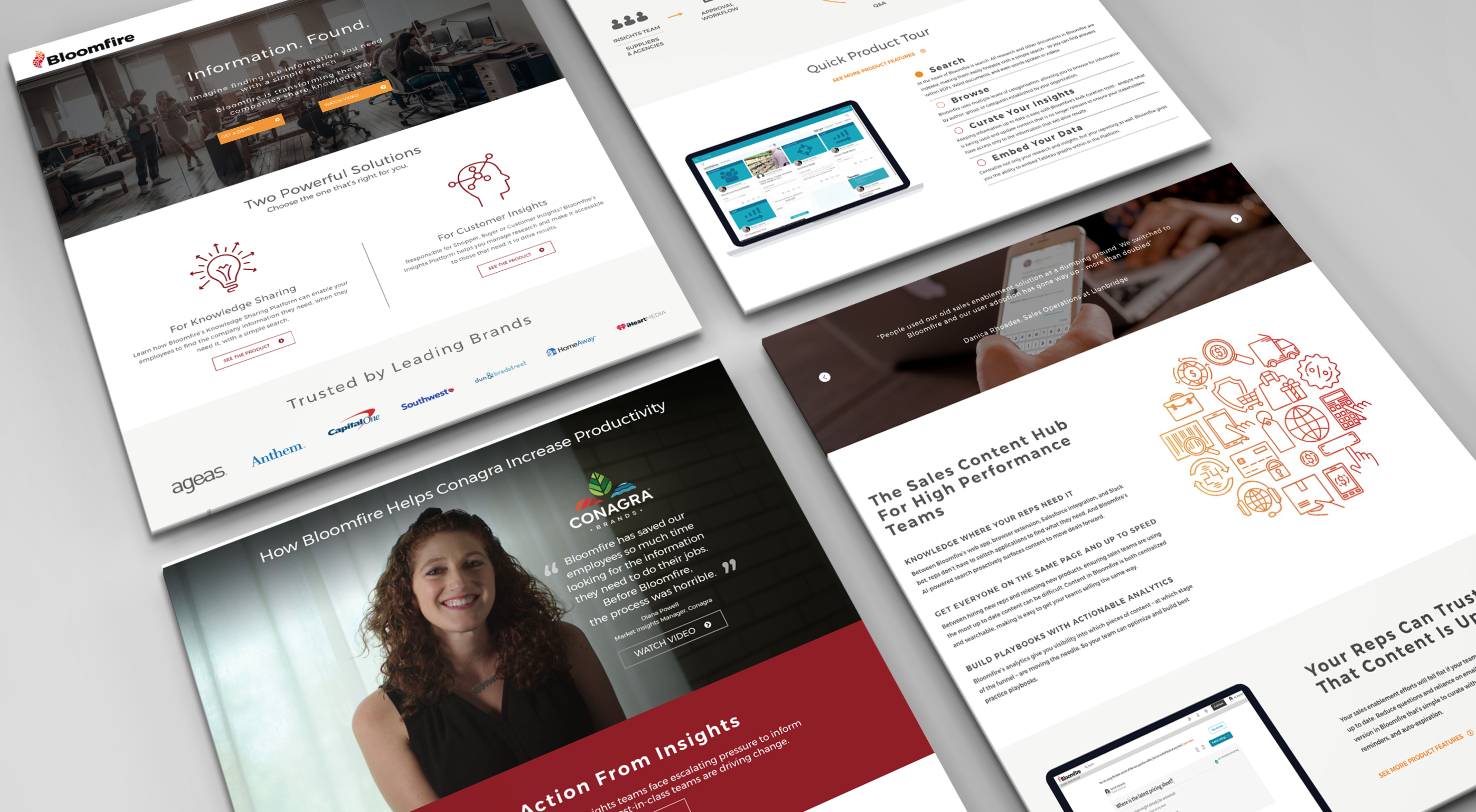 bloomfire growth driven design pages case study