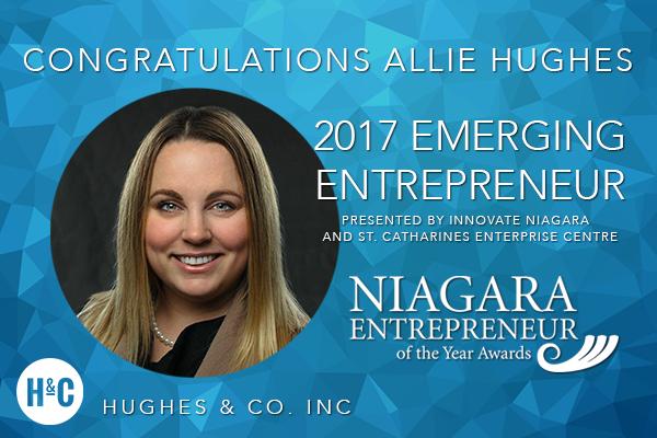 Allie Hughes Emerging Entrepreneur>  <p><span style=