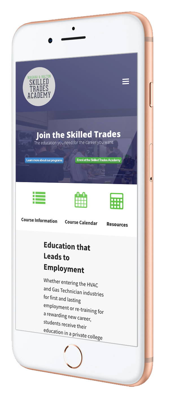 skilled trades niagara seo strategy case study